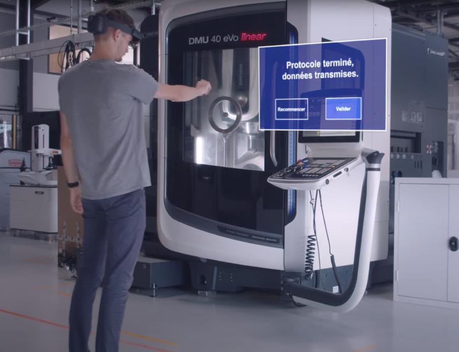 Utilisation de la réalité augmentée dans l'industrie